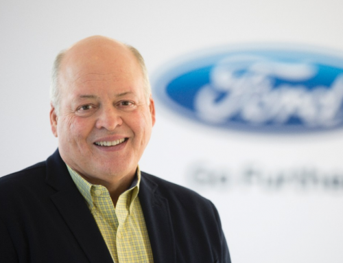 Ford introduces CEO Jim Hackett to further implement advanced technologies and 3D printing
