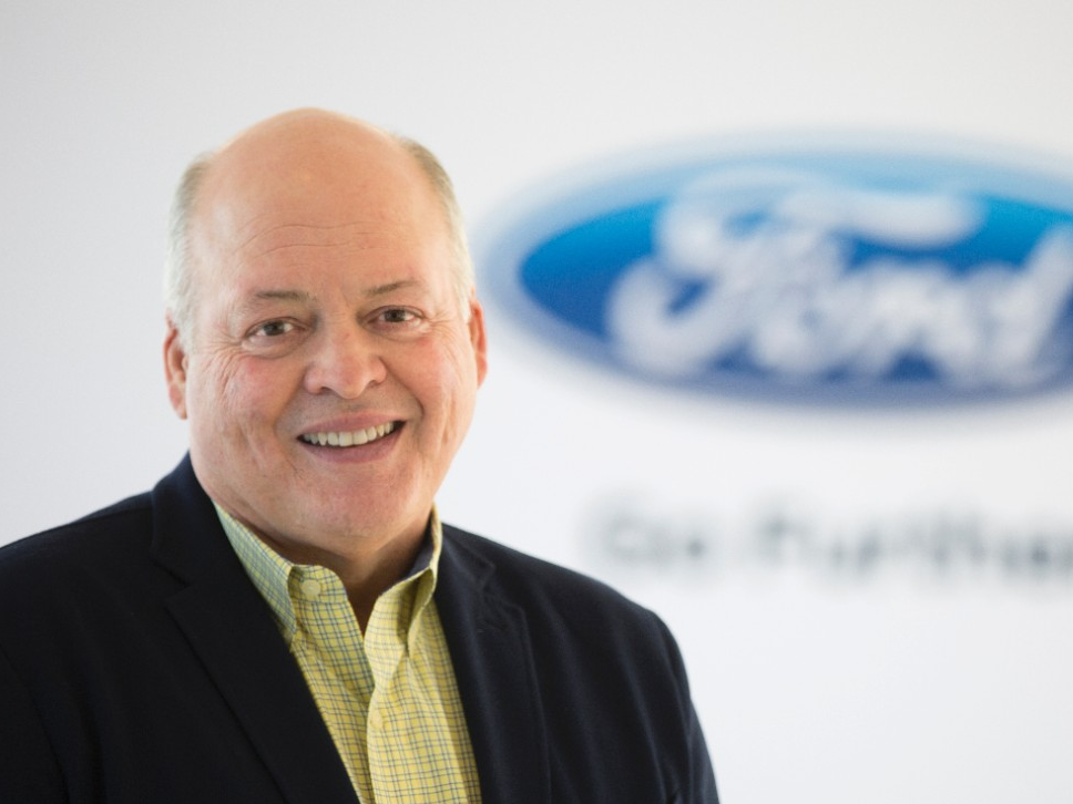 Fields Out, Hackett In as Ford's CEO