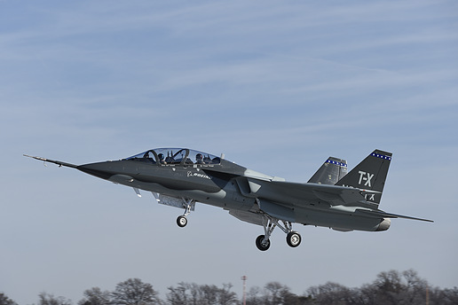 A T-X aircraft from Boeing and Saab. Photo via SAE International Aerospace