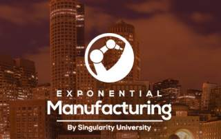 Exponential Manufacturing Summit logo. Image via xmanufacturing on Facebook