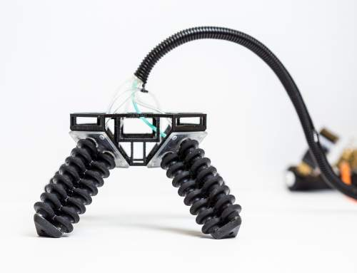 UC San Diego presents 3D printed soft-robotic legs for all-terrain robot explorer