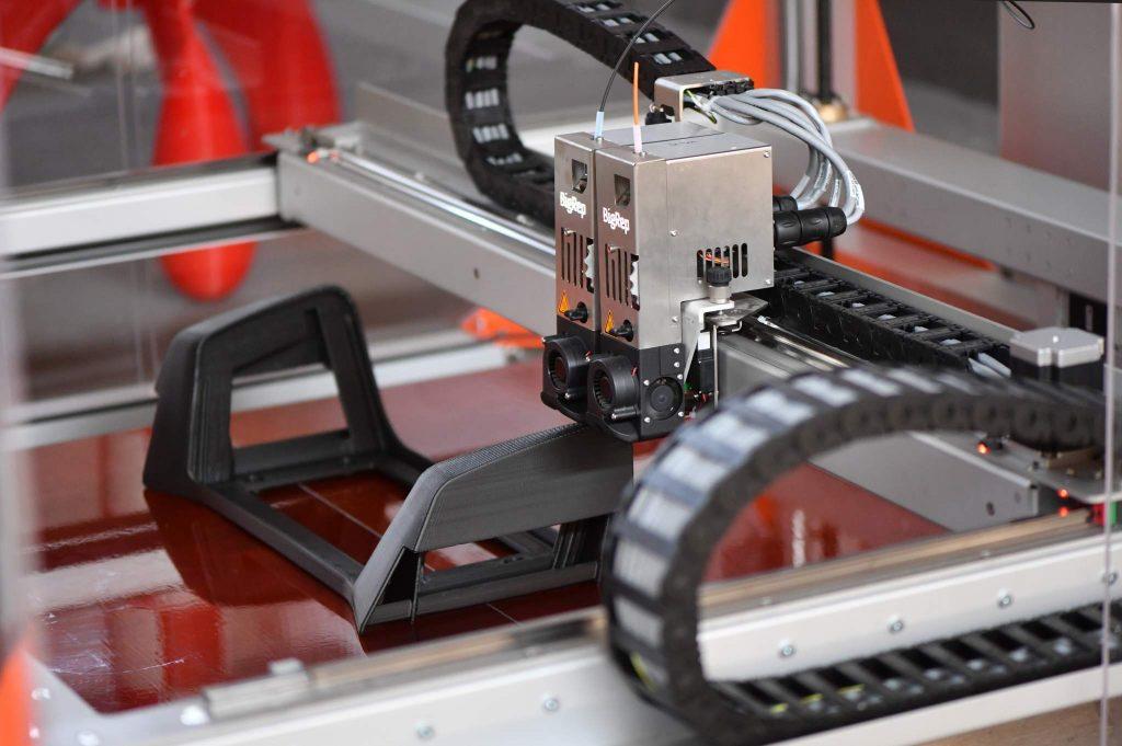 BigRep 3D printer used to create headrests. Photo via DB AG/Oliver Lang.