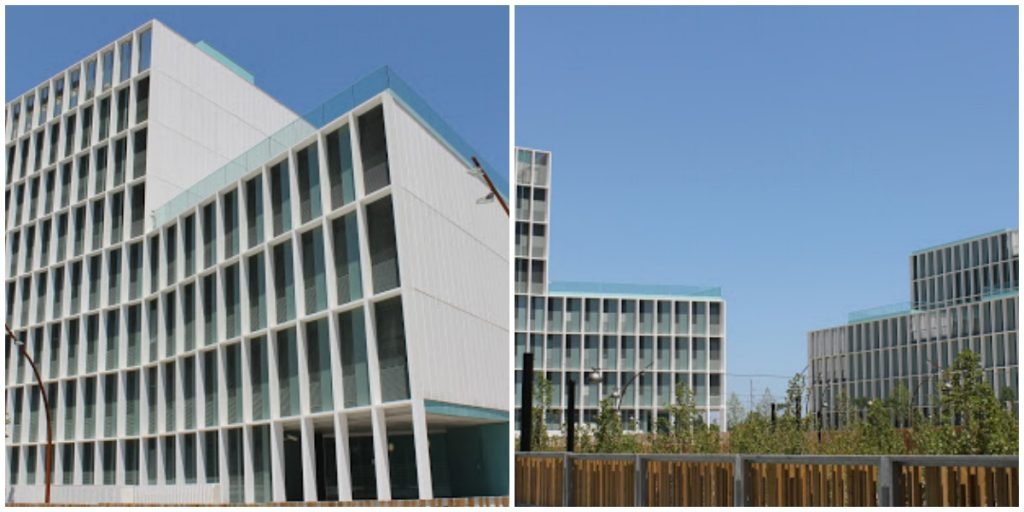 Diagonal Besòs campus in Barcelona, soon to be home to the Global 3D Printing Hub. Photo via campus-besos.cat