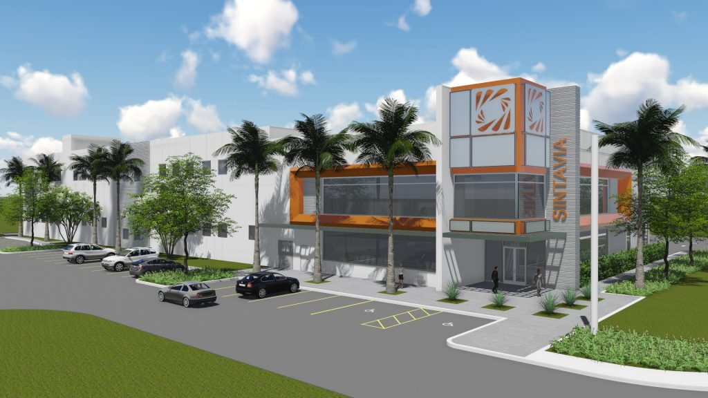 Starry-eyed - illustration of Sintavia's planned advanced manufacturing facility in Hollywood. Image via Sintavia.