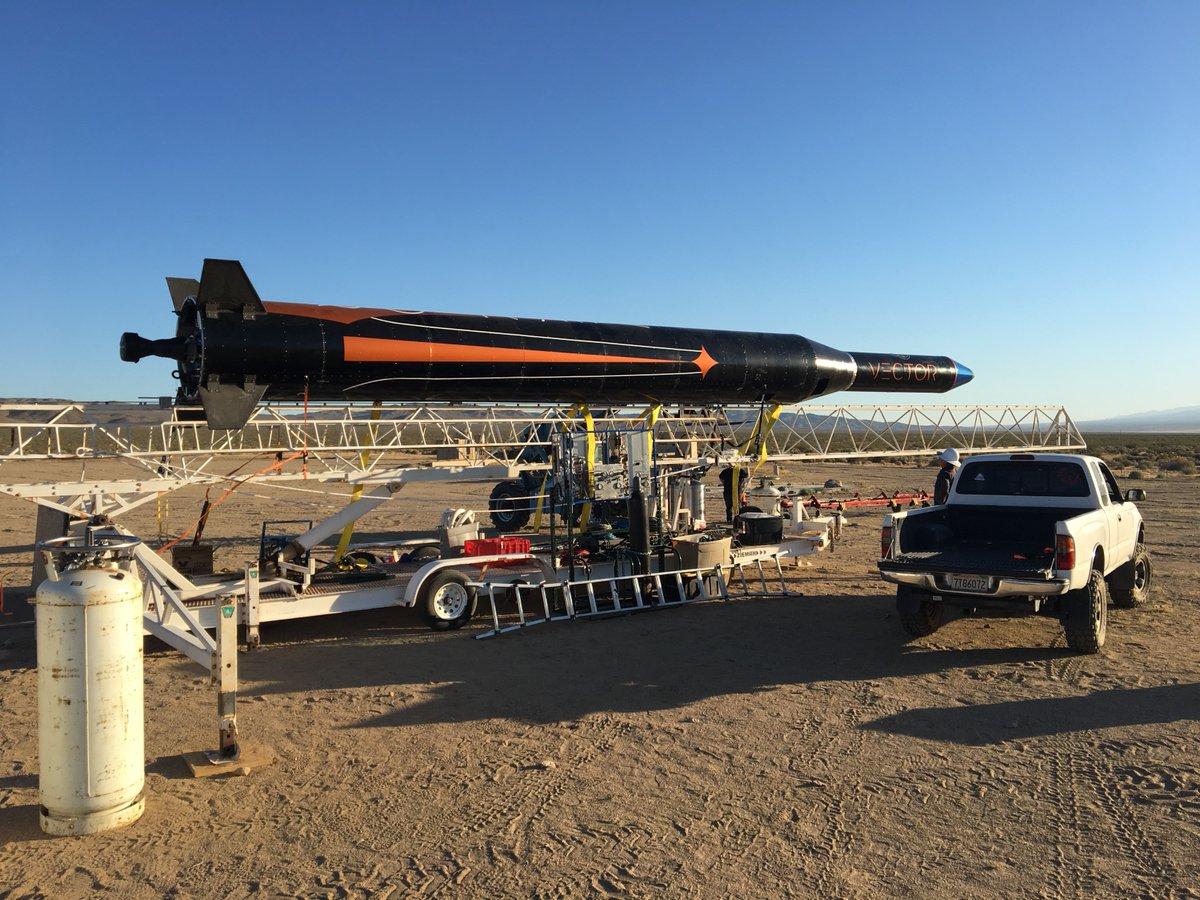 Vector successfully tests Vector-R launch vehicle with 3D printed injector component