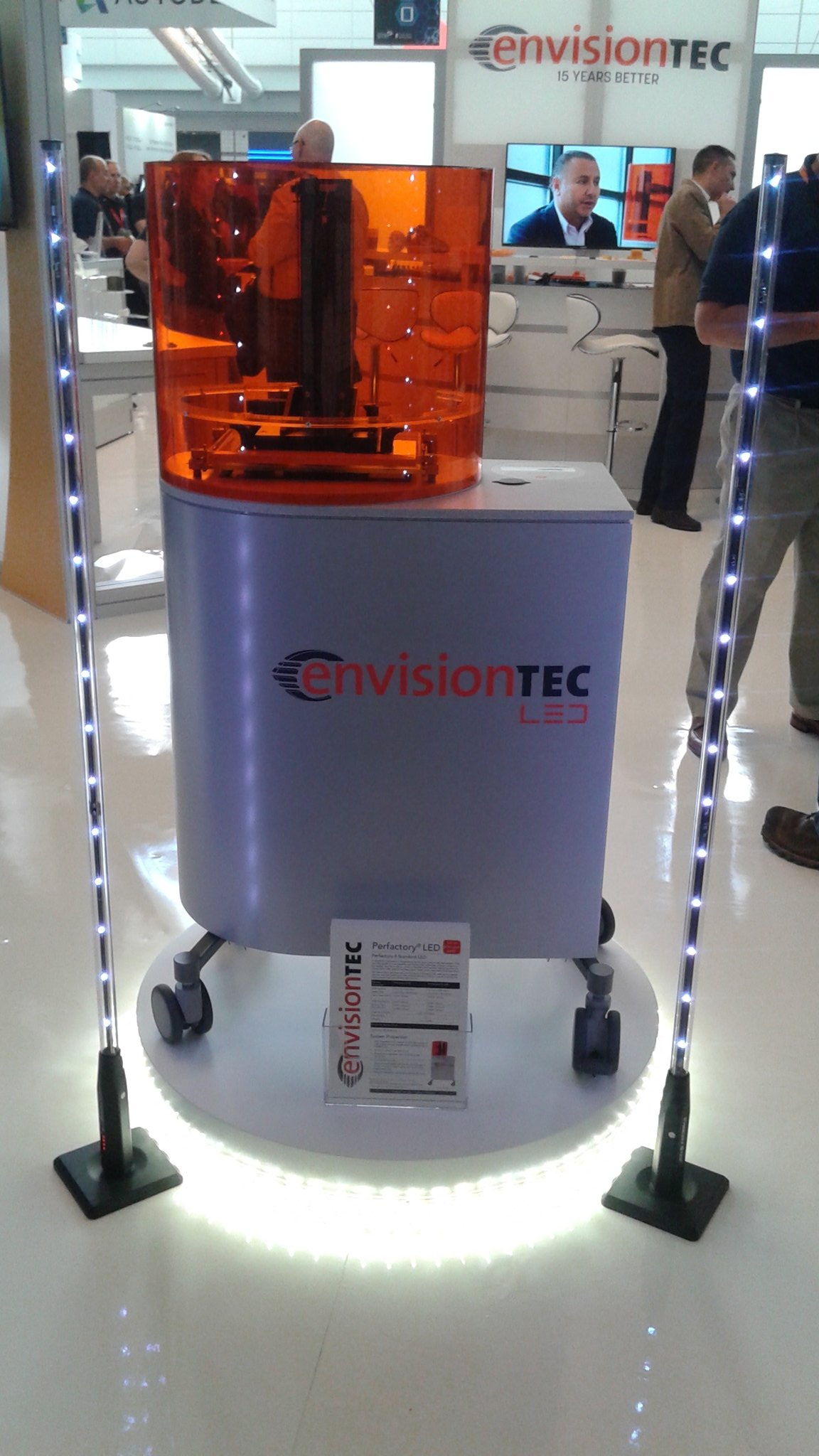 EnvisionTEC's new LED system. Photo via EnvisionTEC.