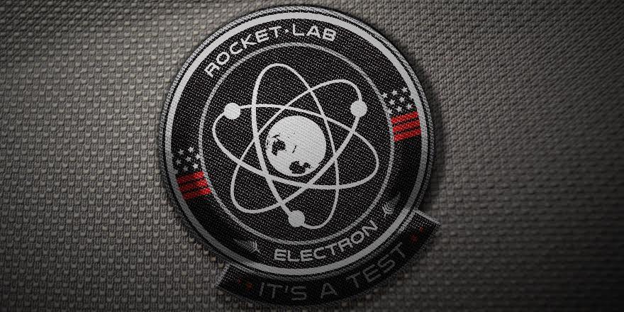The Electron mission patch. Image via Rocket Lab.