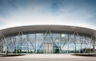 The University of Sheffield Advanced Manufacturing Research Centre with Boeing. Photo via AMRC.