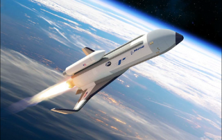 An artist's concept of the XS-1 spaceplane. Image via DARPA.