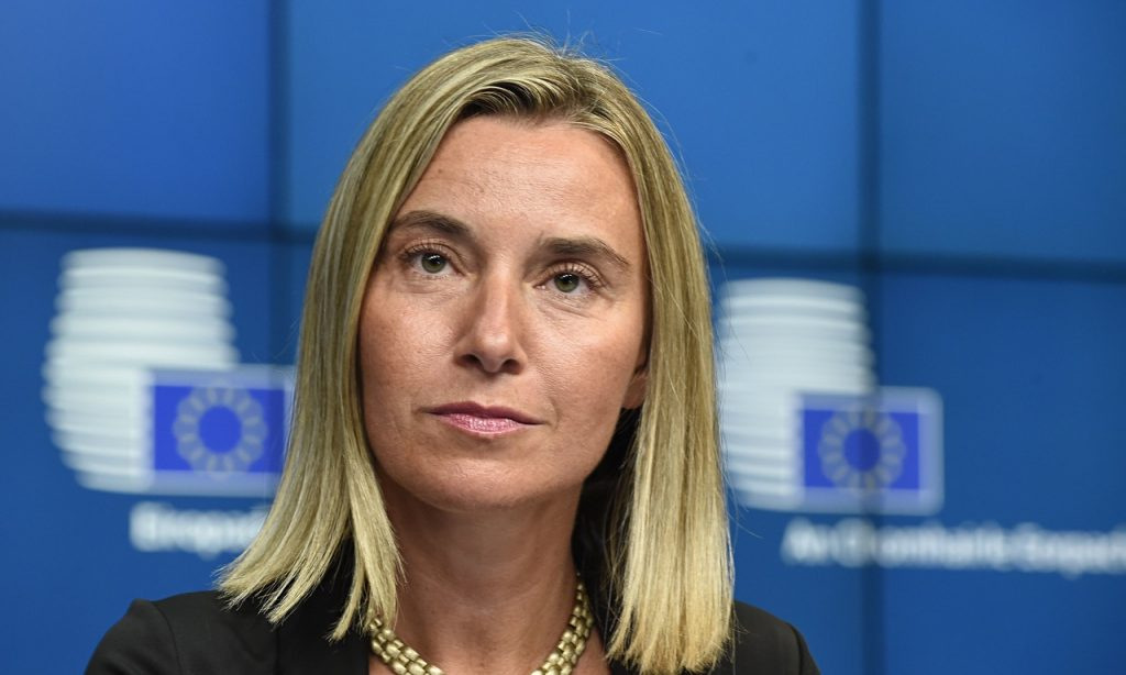 Federica Mogherini, head of the EDA, Vice-President of the European Commission and High Representative of the European Union for Foreign Affairs and Security Policy. Photo via federicamogherini.net