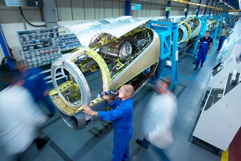 GKN are also active in the Aerospace sector. Photo via GKN.
