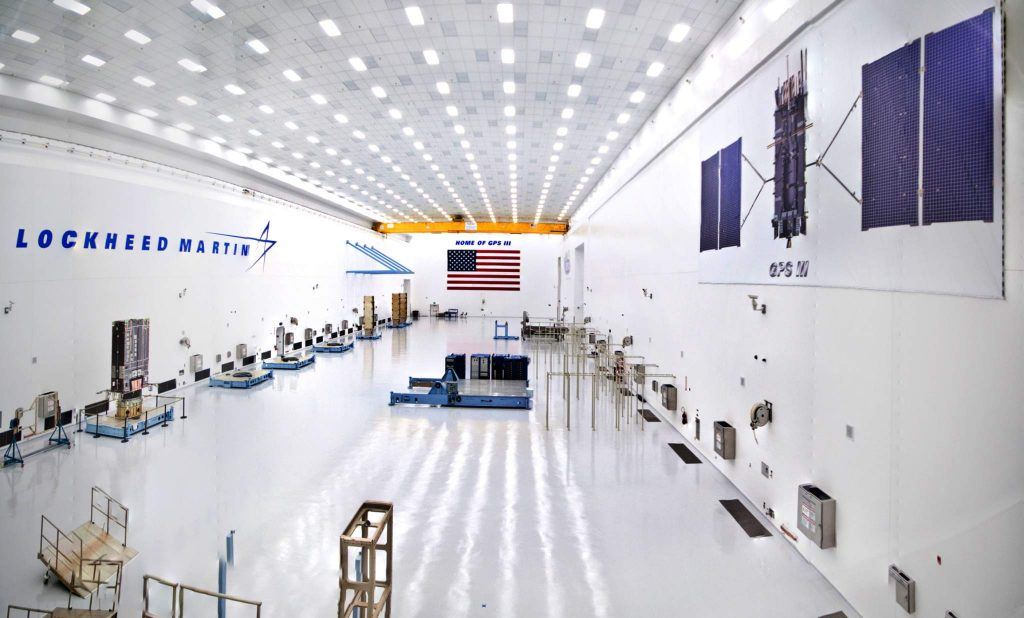 GPS3 Processing Facility at Lockheed Martin.