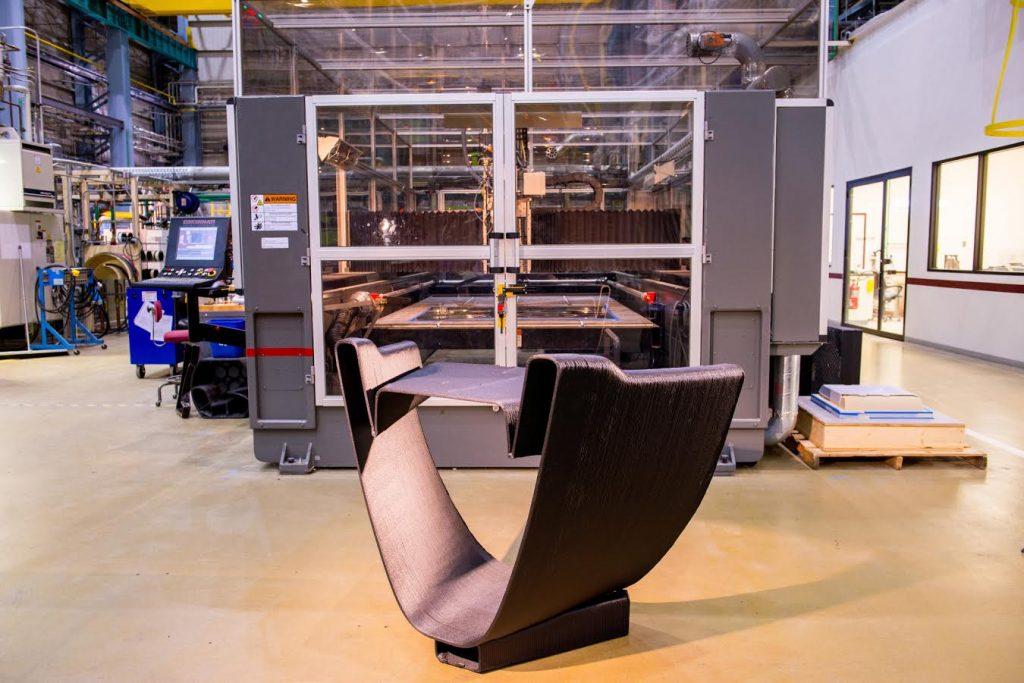 A sample 3D printed component for Livrea Yacht. Image via Autodesk.