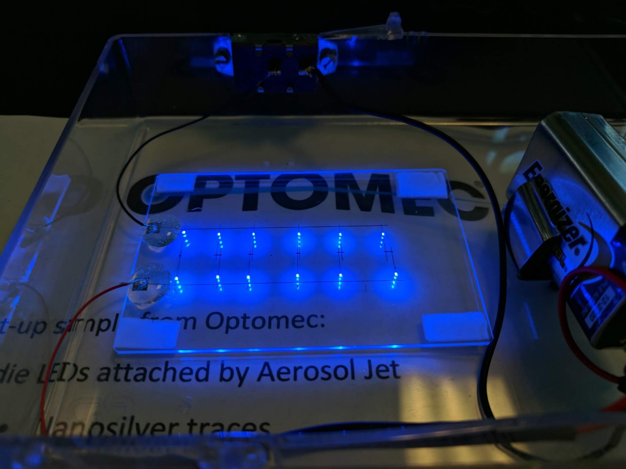 Optomec advances copper inks to expand 3D printed electronics