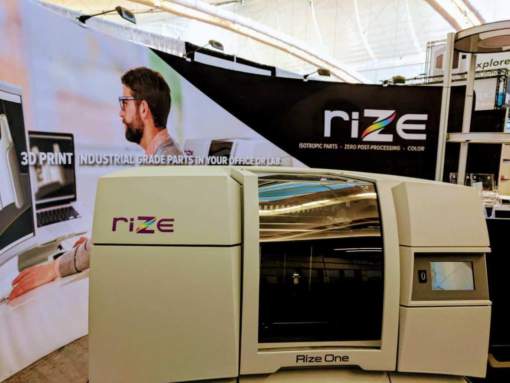 Rize One at RAPID + TCT. Photo by Michael Petch.
