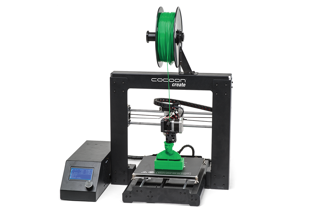 The Cocoon Create 3D printer. Photo via Cocoon Create Australia