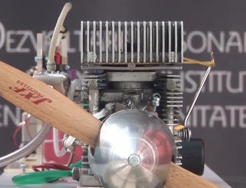 Researcher at Transilvania University demos 3D printed metal two-stroke engine