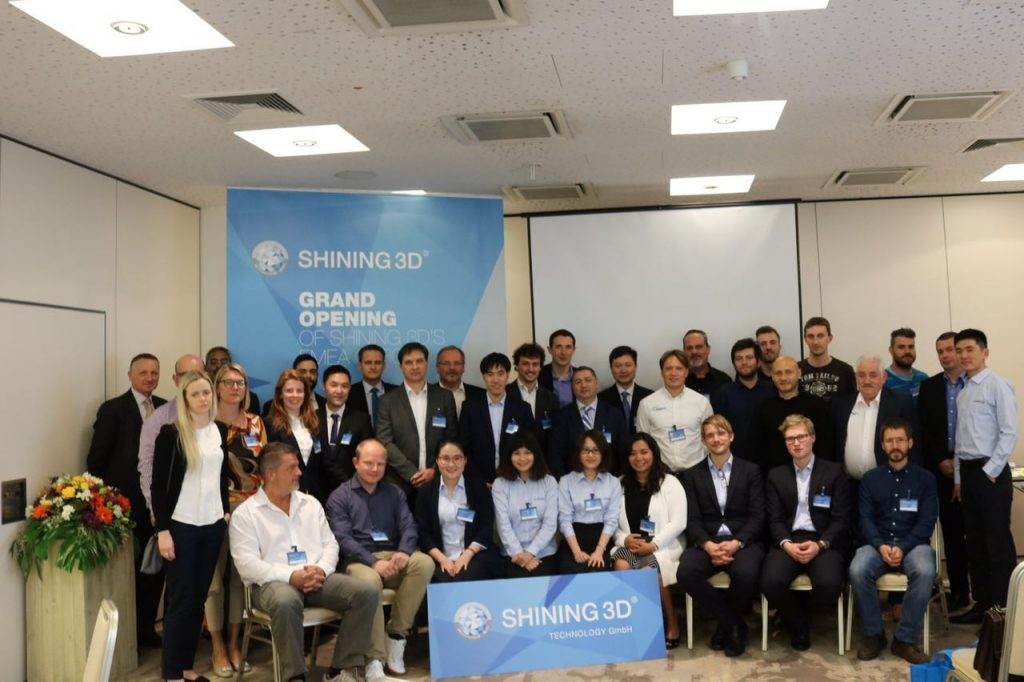 3D Printing Industry attended the opening of Shining3D's new EMEA HQ.
