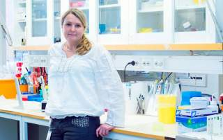 Stina Simonsson led the research into 3D bioprinting cartilage.