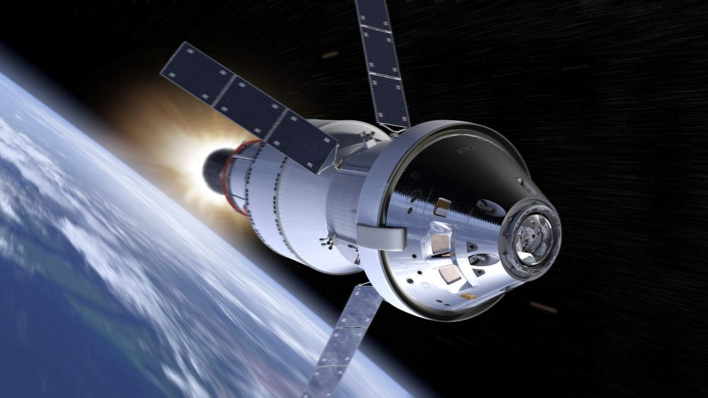 The Orion spacecraft. Image via NASA
