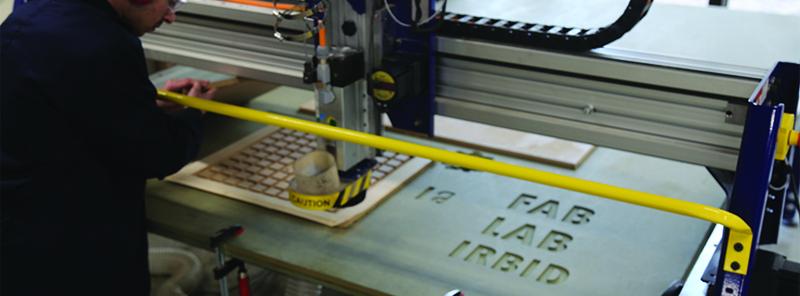The Fab Lab Irbid's fabrication capabilities. Photo via Fab Lab Irbid.