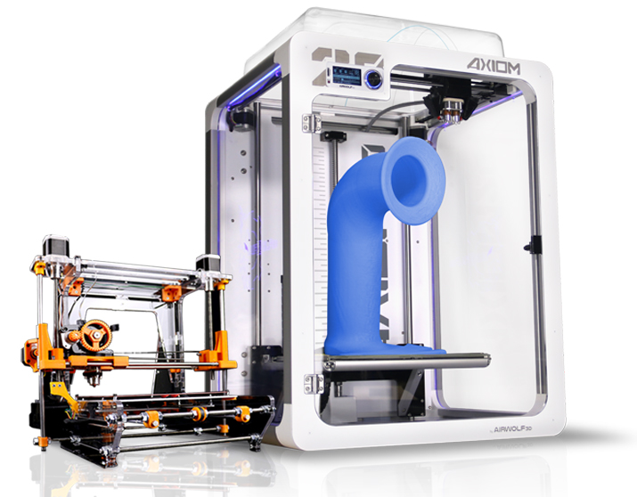 The evolution of 3D printers: Airwolf 3D released its first printer, the 5.5, in 2012 and the ultra-tall AXIOM 20 in 2016.