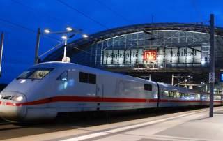 Deutsche Bahn train.