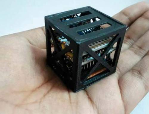 """Indian teenager 3D prints """"world's lightest satellite"""" to launch on NASA rocket"""