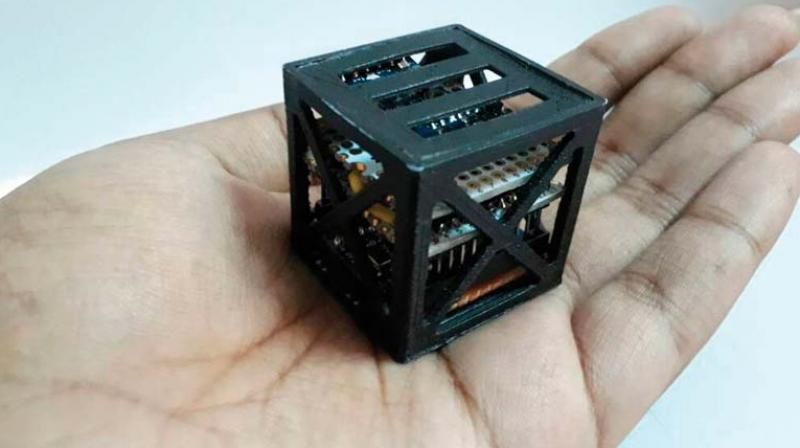 This Indian teen has developed the world's smallest satellite for NASA
