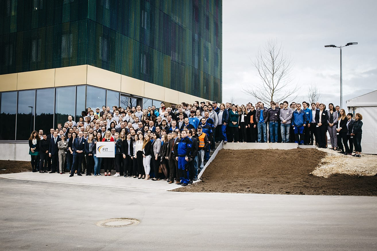 FIT AG opens the new additive manufacturing center in Lupburg, Germany. Photo via FIT AG.