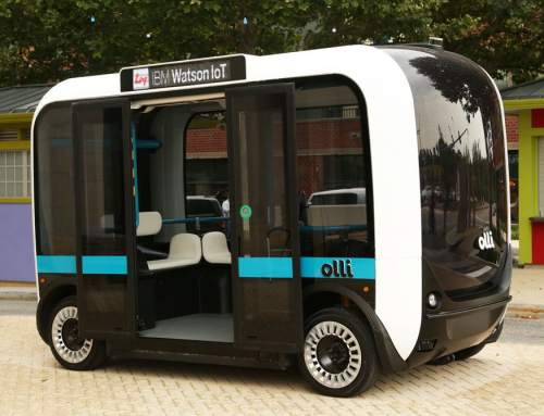 Local Motors 3D prints first Olli, autonomous transit vehicle in Knoxville