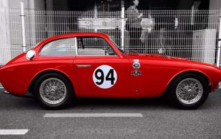 The restored 1952 Ferrari 225 in Monaco. Photo via RSL.