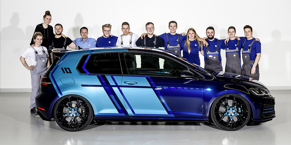 9bc21a6a8c VW launches 3D printed spare parts initiative and redesigns the classic  Golf GTI - 3D Printing Industry