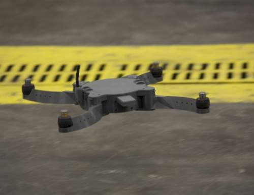U.S. Marines launch Nibbler drone made on combat zone 3D printer