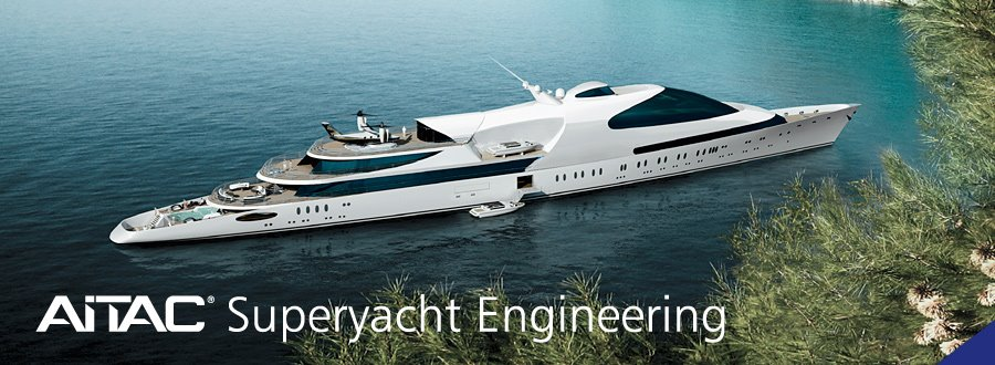 A superyacht design by AITAC. Image via aitac.nl on Facebook