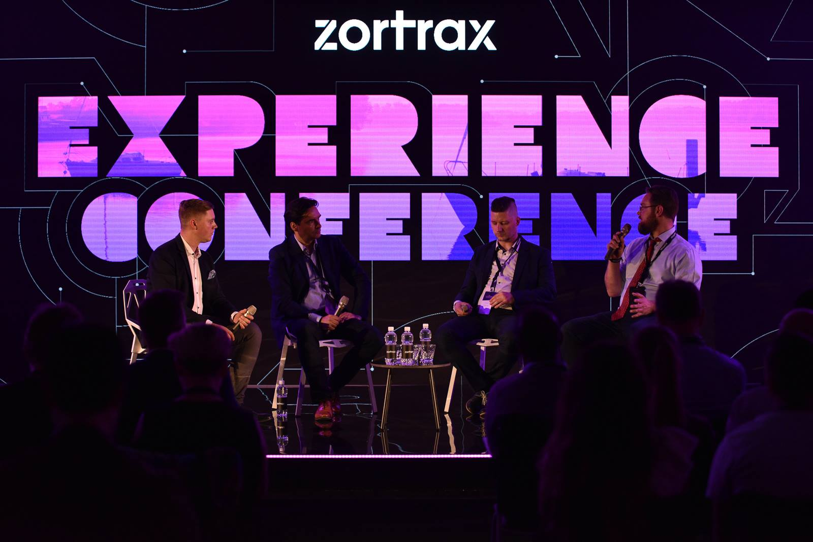 3D Printing Industry editor-in-chief (far right) Michael Petch speaking at the Zortrax Experience Conference. Photo via Zortrax.