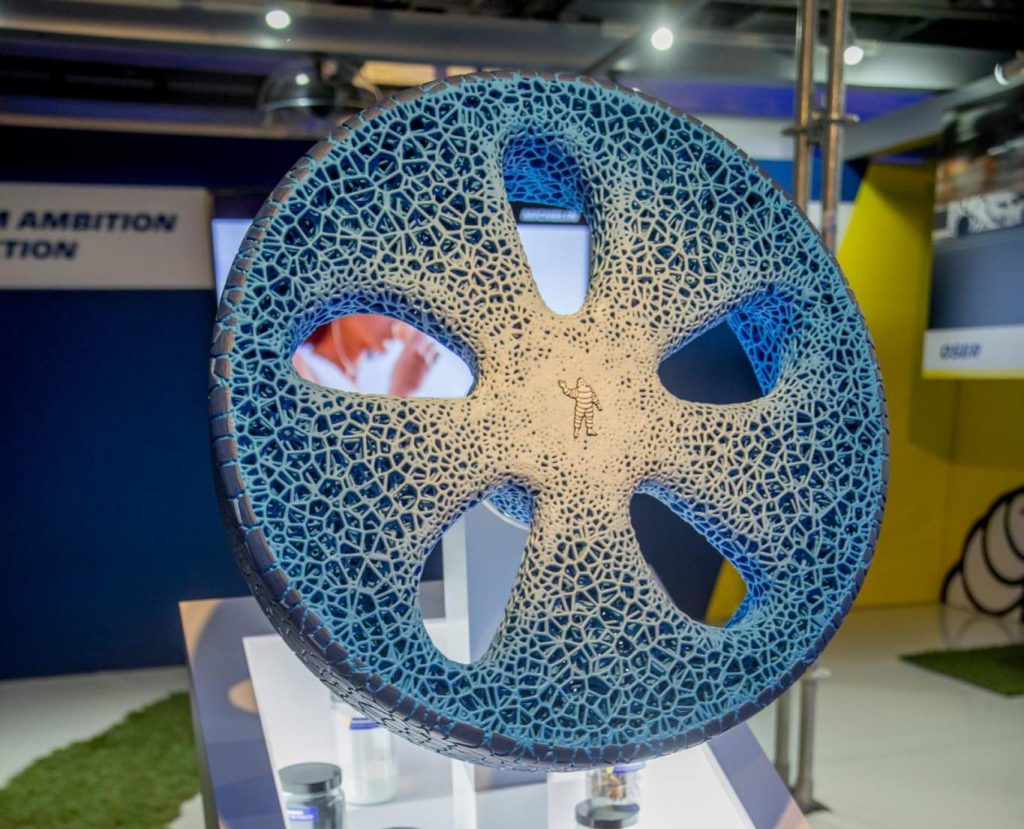The VISION concept tire. Photo via Jimmy Hamelin/Michelin.