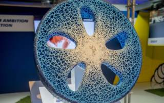 The VISION concept tire. Photo via Jimmy Hamelin/Michelin.