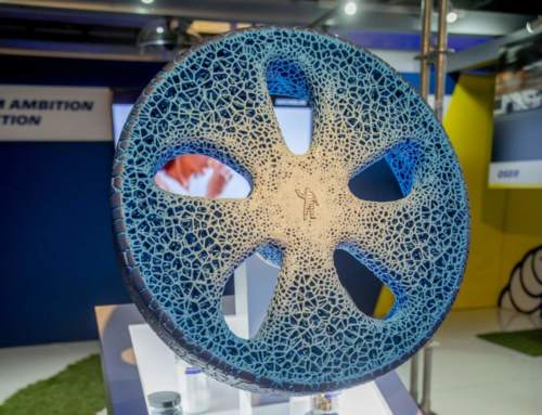Michelin unveils airless, biodegradable, 3D printed concept tire