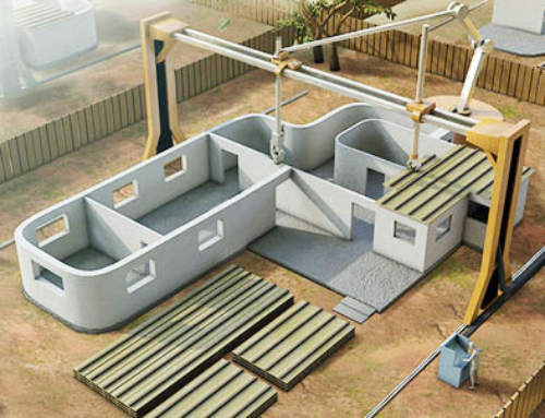 """""""A new house in only 2 days,"""" Contour Crafting begins manufacture of 3D printer for construction"""