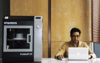 The INTAMSYS FUNMAT HT 3D printer. Photo via INTAMSYS