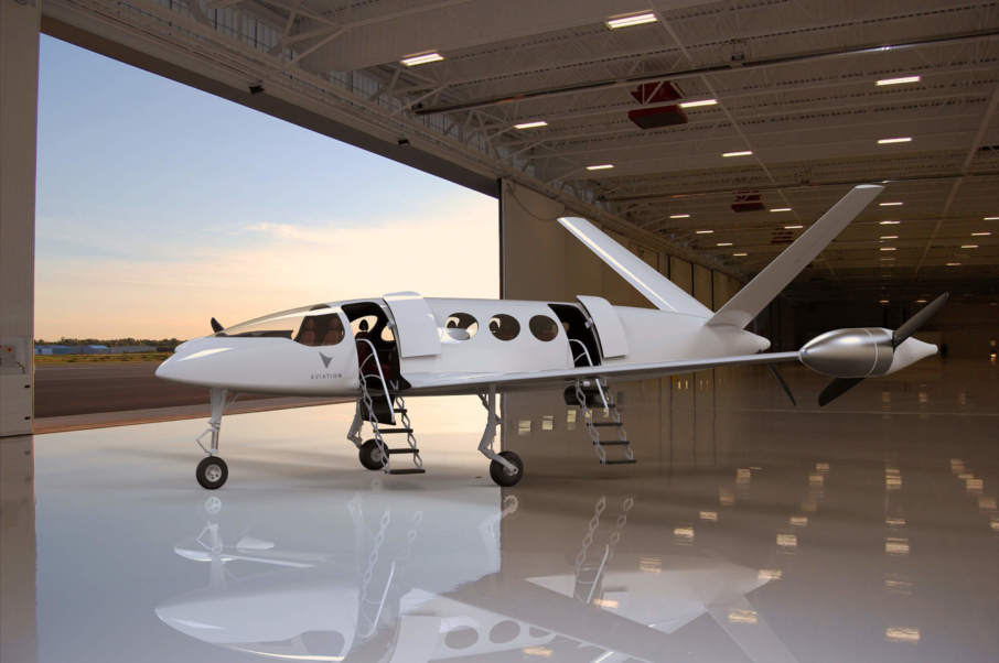 The Eviation Aircraft concept. Image via Eviation.