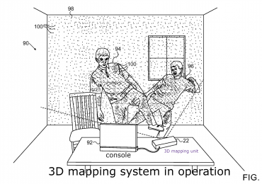 Apple 3D mapping system in operation from patent June 2017