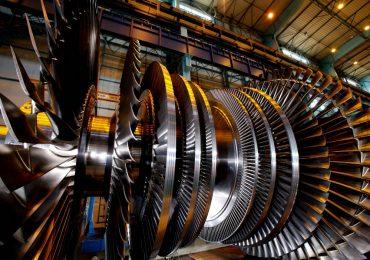 A GE Arabelle nuclear steam turbine. Photo via GE Power
