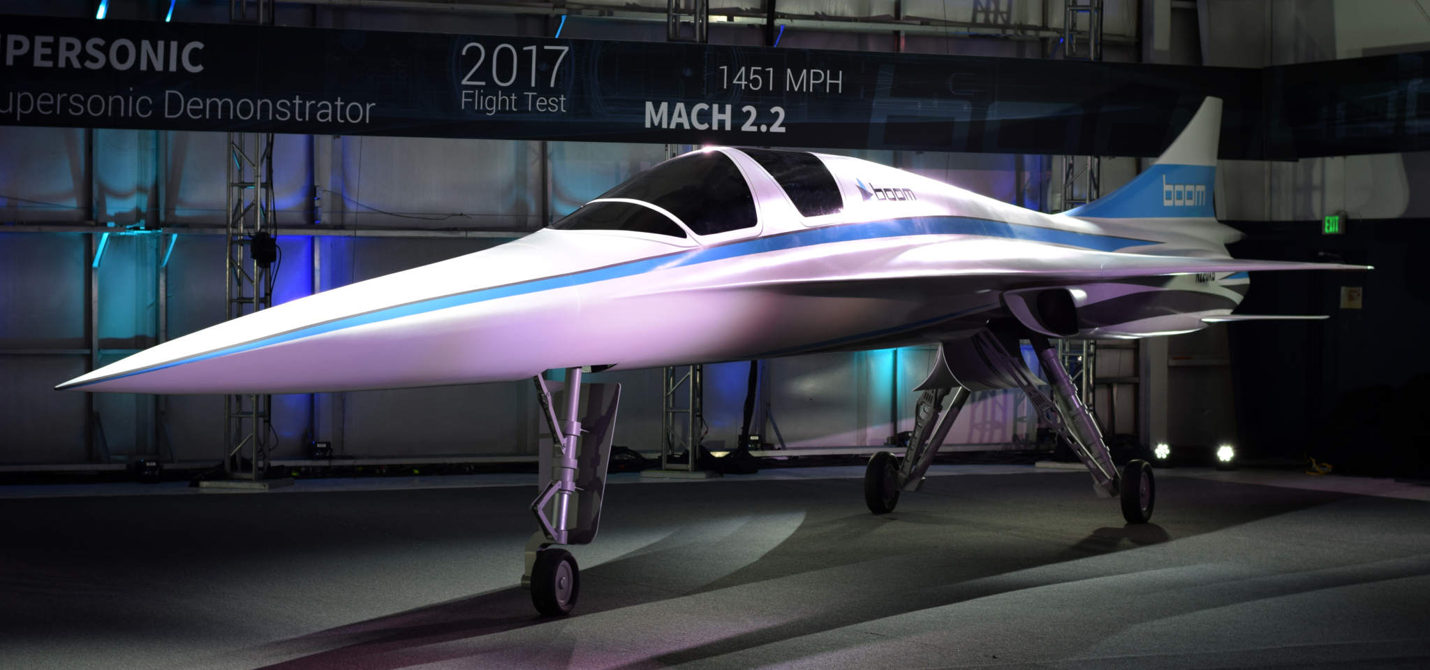 Boom's XB-1 supersonic demonstrator aircraft. Image via Business Wire.