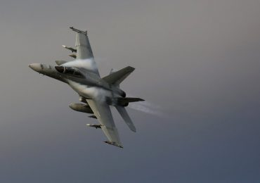 A jet in the Australian Airforce. Photo via @DeptDefence on Twitter