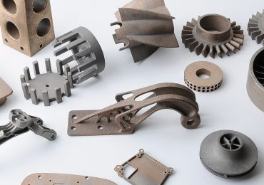 3D printed components show the capabilities of the manufacturing platform. Image via Xometry.