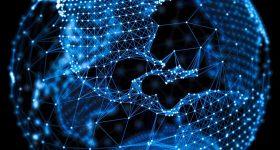 Blockchain model across the globe.