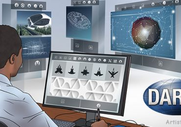 TRAansformative DESign concept illustration from DARPA.