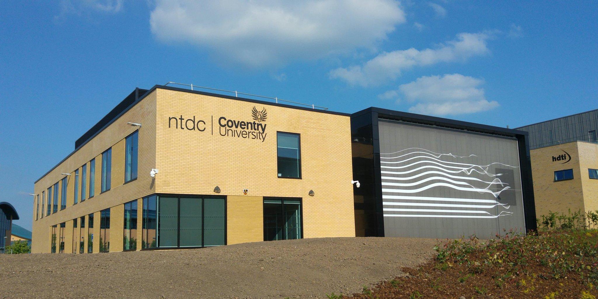 The National Transport Design Centre. Photo via Coventry University.